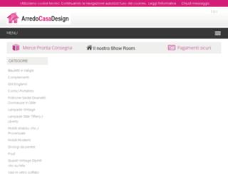 arredocasadesign.net screenshot