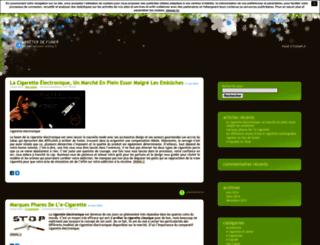 arreterfumerblog.unblog.fr screenshot