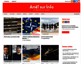 arretsurinfo.ch screenshot