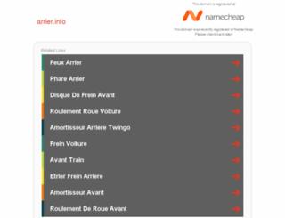 arrier.info screenshot