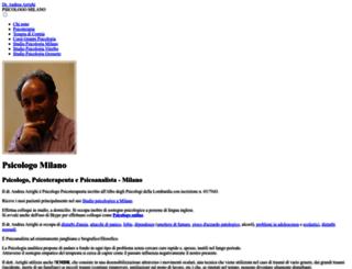 arrighi-psicologo.it screenshot