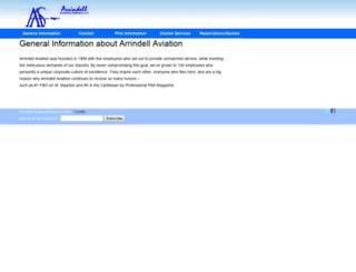 arrindellaviation.net screenshot