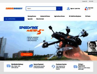 arrishobby.com screenshot