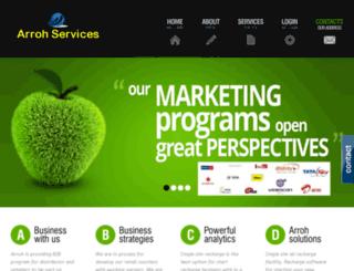 arroh-e-services.com screenshot
