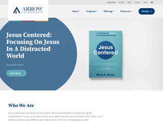 arrowleadership.com screenshot