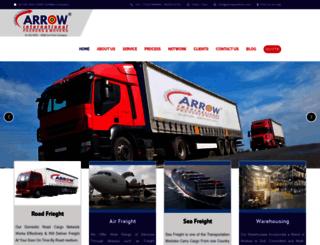 arrowpackers.com screenshot