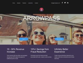 arrowpass.com screenshot