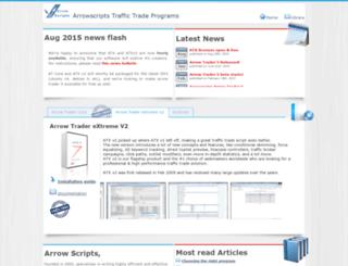 arrowscripts.com screenshot
