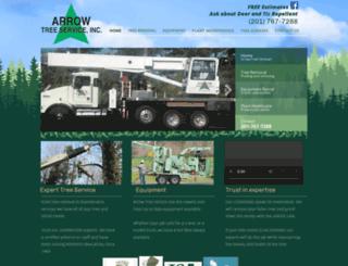 arrowtreeservice.com screenshot