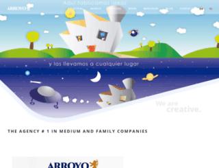 arroyopublicidad.com.mx screenshot
