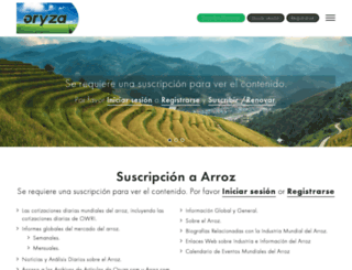 arroz.com screenshot