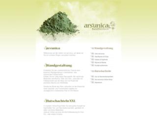 ars-unica.de screenshot