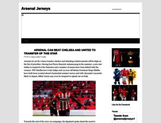 arsenaljerseys.net screenshot