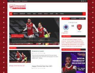 arsenalmy.com screenshot