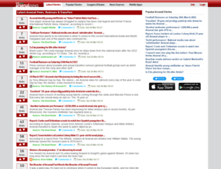 arsenalnews.net screenshot