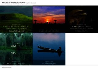 arshadphotography.wordpress.com screenshot