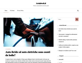 arsialweb.it screenshot
