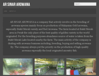 arsinararowana.com screenshot