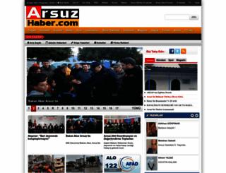 arsuzhaber.com screenshot