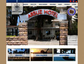 arsuzotel.com screenshot