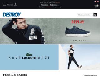 art-boty-destroy-obuv.cz screenshot