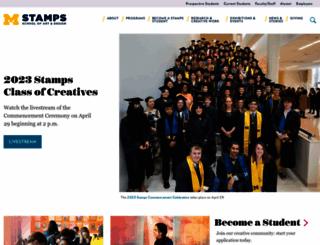 art-design.umich.edu screenshot