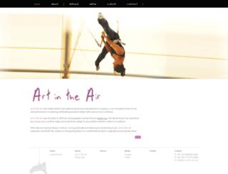 art-in-the-air.com screenshot