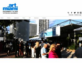 art-miami.com screenshot