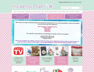 art-of-craft.co.uk screenshot
