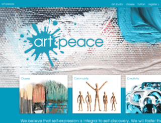 art-peace.org screenshot