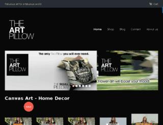 art-pillows.myshopify.com screenshot