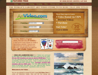 art-video.com screenshot