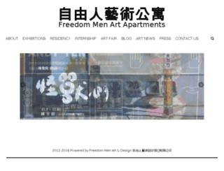 art.freedommen.com screenshot