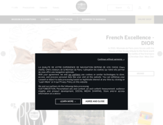 art.monnaiedeparis.fr screenshot