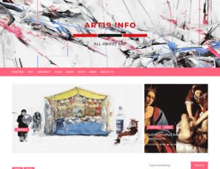art19.info screenshot