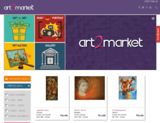 art2market.in screenshot