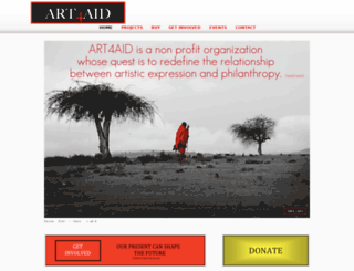 art4aid.org screenshot