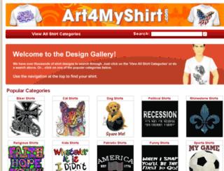 art4myshirt.com screenshot