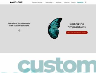 artandlogic.com screenshot