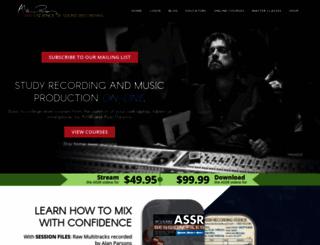 artandscienceofsound.com screenshot