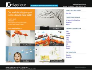 artapplique.ca screenshot