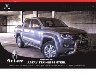 artav.co.za screenshot