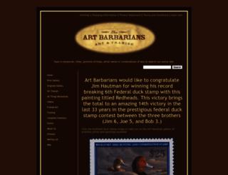 artbarbarians.com screenshot