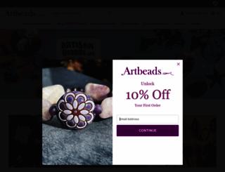 artbeads.com screenshot
