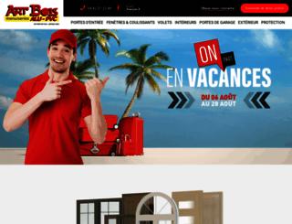 artbois-menuiseries.com screenshot