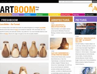 artboom.ro screenshot