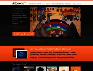 artbox.com screenshot