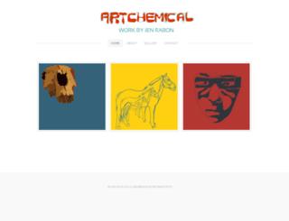 artchemical.com screenshot