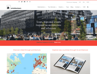 artchitectours.com screenshot
