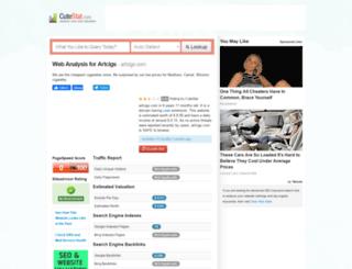artcigs.com.cutestat.com screenshot